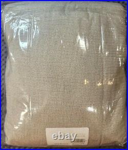 Pottery Barn Soft Cotton Duvet Cover, Natural Gray Color, King/Cal. King Size