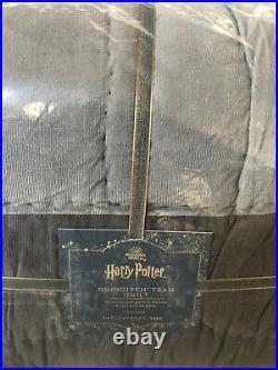 Pottery Barn Teen Harry Potter Quidditch Full Queen Quilt Shams Bedding Set