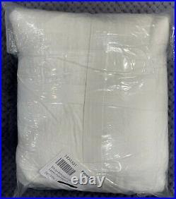 Pottery Barn White Belgian Flax Linen Duvet Cover, Full/Queen, Free Shipping