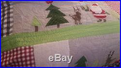 Pottery barn kids Christmas full /queen quilt