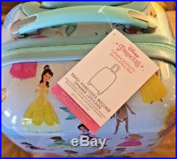 Pottery barn kids Mackenzie Hard Sided spinner luggage Disney Princess Small