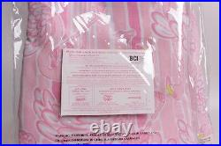 S/2 Pottery Barn Kids Lilly Pulitzer Neckin Blackout Curtain panels 44x63 pink