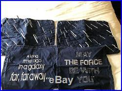 Star Wars Millennium Falcon Pottery Barn Kids Full/Queen Comforter Pillow Shams